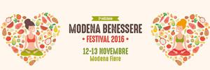MODENA BENESSERE FESTIVAL 2016