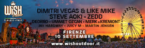 WISH OUTDOOR FIRENZE ITALY