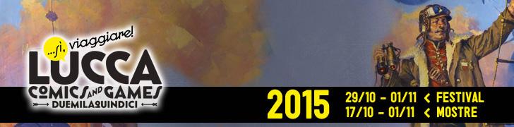 Lucca Comics 2015