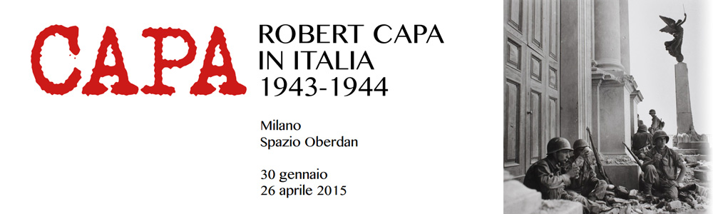 ROBERT CAPA IN ITALIA 1943 - 1944