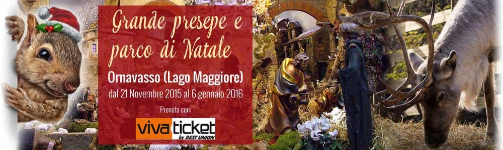 GRANDE PRESEPE E PARCO DI NATALE