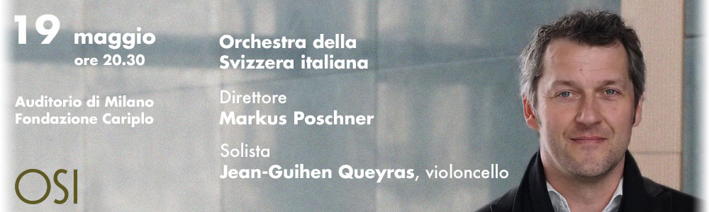 CONCERTO DELL'ORCHESTRA DELLA SVIZZERA ITALIANA