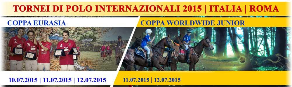 TORNEI DI POLO INTERNAZIONALI 2015 |  ITALIA | ROMA