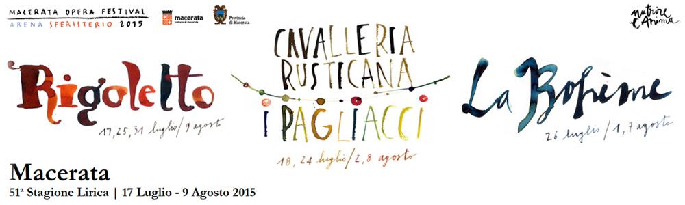 51^ MACERATA OPERA FESTIVAL 2015
