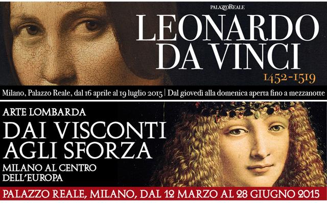 ARTE LOMBARDA DAI VISCONTI AGLI SFORZA - LEONARDO 1452-1519