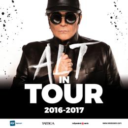 RENATO ZERO - ALT IN TOUR 2016-2017 - Tour