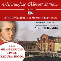 AMI - ABB. STAGIONE 2016-17: MOZART E BEETHOVEN - Chiesa di San Marco