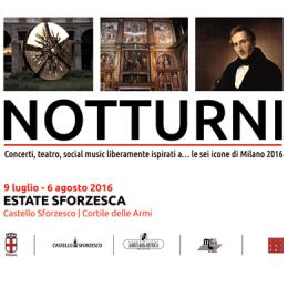 NOTTURNI - Castello Sforzesco Milano