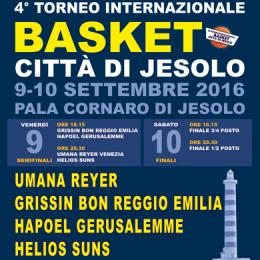 FINALI - 4 TORNEO DI BASKET INTERNAZIONALE CITT� DI JESOLO - Pala Cornaro