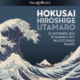 BIGLIETTO OPEN HOKUSAI HIROSHIGE UTAMARO - Palazzo Reale - Piano Terra