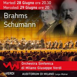 BRAHMS / SCHUMANN - HANNU LINTU - Auditorium