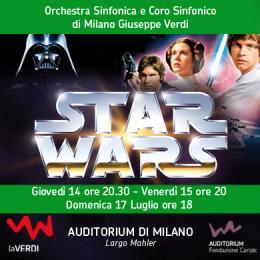 STAR WARS IN CONCERTO - MUSICA E FILM - Auditorium