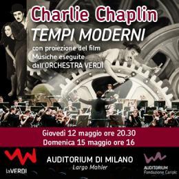 TEMPI MODERNI - MUSICA E FILM - Auditorium