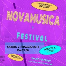 NOVAMUSICA IN FESTIVAL - Spazio Teatro 89