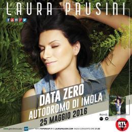 LAURA PAUSINI - IMOLA 2016 - DATA ZERO - Autodromo Enzo e Dino Ferrari