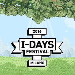 I-DAYS FESTIVAL 2016 - Nuova location: Parco di Monza - Autodromo Nazionale