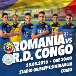 GARA INTERNAZIONALE - ROMANIA VS CONGO