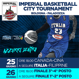 IMPERIAL BASKETBALL CITY TOURNAMENT - FINALI - Paladozza