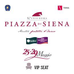 ABBONAMENTO VIP SEAT 3 GG WEEKEND