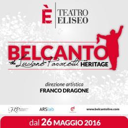 BELCANTO-LUCIANO PAVAROTTI HERITAGE - TEATRO ELISEO