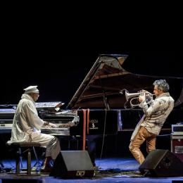X GIORNATE 2016 - PAOLO FRESU AND OMAR SOSA - EROS - Teatro Sociale