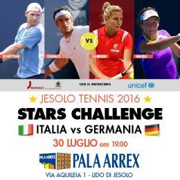 JESOLO TENNIS 2016 - STARS CHALLENGE - PALA ARREX