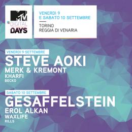 MTV DIGITAL DAYS 2016 - Reggia di Venaria Reale - TORINO
