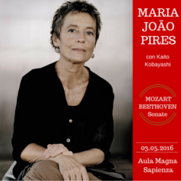 MARIA JOAO PIRES - KAITO KOBAYASHI - Aula Magna Universit� - La Sapienza