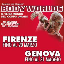 BODY WORLDS - Firenze - Genova