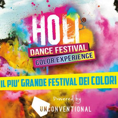 HOLI DANCE FESTIVAL - Catania, Napoli, Milano, Firenze