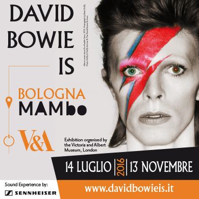 DAVID BOWIE IS - Museo d'Arte Moderna - BOLOGNA(BO)