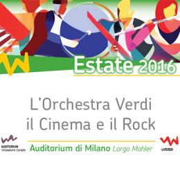 ORCHESTRA VERDI - ESTATE 2016 - Auditorium - Milano