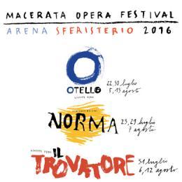 52^ MACERATA OPERA FESTIVAL 2016 - Arena Sferisterio, Macerata