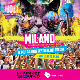 HOLI DANCE FESTIVAL MILANO - MARKET SOUND